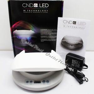 CND LED LIGHT Lamp Professional Shellac Nail Dryer 3C Technology