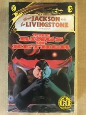 FIGHTING FANTASY #15 The Rings Of Kether Steve Jackson Ian Livingstone Puffin