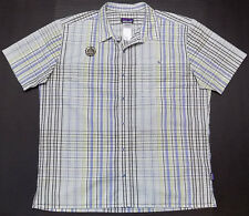 Patagonia Puckerware Odell Brewing Co Short Sleeve Shirt Mens Size XL