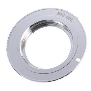 M42 Lens to Canon EOS Adapter Ring 5D 6D 80D 600D 7D 77D 9th AF Confirm w/ Chip