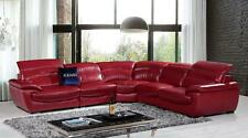 Free Shipping K8469 Modern Red Leather Sectional Sofa For Living Room Furniture