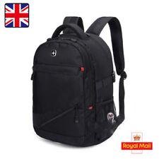"""1X Laptop Notebook Shoulder Bag Rucksack Backpack 17"""" Swiss Style Waterproof"""