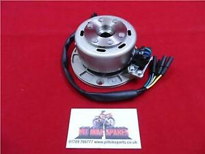 Lighter Stator Plate & Flywheel For Pit Bike Engine. Outer Rotor Kit. YX160 12V