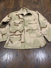 US Military Vintage Genuine Camo Shirt Authentic Camouflage Men's PRE-OWNED #18