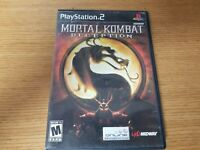Mortal Kombat: Deception (Sony PlayStation 2 PS2, 2004) PS2 Complete