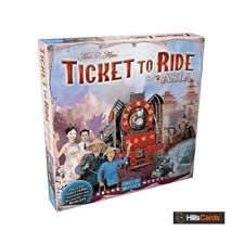 Ticket To Ride: Asia + Legendary Asia Board Game Map Expansion | 2-6 Player