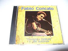 Fabio Concato Domenica Bestile E Altri Successi cd 10 tracks 2002 Ex Condition