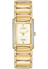 Citizen Gold Plated Band Analogue Wristwatches