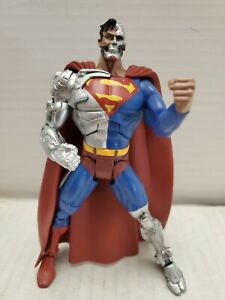 "DC Universe Classics Super Enemies Cyborg Superman 6"" Inch Action Figure"