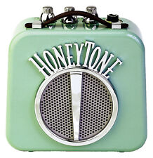 Danelectro N-10 Honeytone 10 watt mini Guitar Amp - Aqua