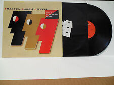 ELP EMERSON LAKE & POWELL original PROMO vinyl LP 1986 Polydor Cozy Powell
