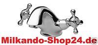 Wasserhahn Nostalgie Retro Armatur, Waschtischarmatur, Messing Waschbecken