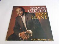 Benny Carter Jazz Giant LP 1990 Contemporary Jazz Japan Reissue Vinyl Record