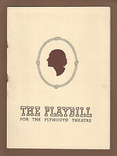 """Katharine Cornell """"LOVERS and FRIENDS"""" Henry Daniell / Anne Burr 1944 Playbill"""