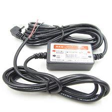 12V MINI  USB Wire Car Charger FOR DVR Power Box Camera Recorder L