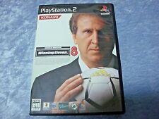 "Sony PS2 Soft "" World Soccer WINNING ELEVEN 8 "" KONAMI NTSC-J SS Used JPN"