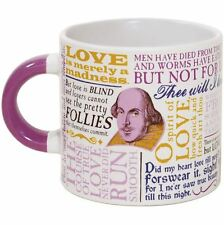 Shakespearean Love Mug 14oz Coffee Tea Taza