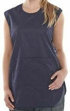 More details for poly-cotton workwear p/c tabbard navy large
