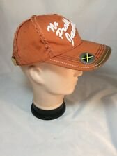 Distressed No Problem Jamaica W/  Attached Bottle Opener Baseball Cap One Size