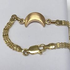 """Gorgeous Solid 18K Ladies bracelet 7.5"""" - 19 cm  MADE IN ITALY Lobster Clasp"""