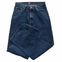 Tommy Hilfiger Jeans Men's 32X32 Blue Straight Leg Cotton Medium Wash 5 Pockets