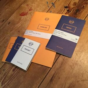 Silvine Originals Exercise / Memo / Pocket - Indie Limited Edition Notebooks