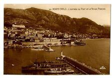 CPA Monaco Monté-Carlo L' Entrée du Port
