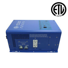 1500W UL 458 Pure Sine Inverter Charger 12Vdc