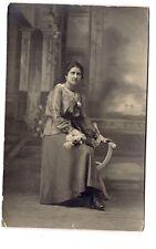 photo carte postale   jeune fille   (1016f)