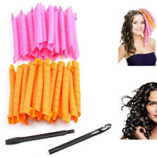 40pcs Magic Hair Curlers Leverage Curl Formers Spiral Styling Ringlets Rollers