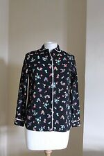 Cooperative Multicoloured Floral Smart Business Office Work Top Shirt Size S