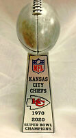 "NEW 2020 KANSAS CITY CHIEFS 15"" SUPER BOWL CHAMPIONSHIP LOMBARDI STYLE TROPHY"