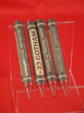 Set of 4 No 23 red Gotham marking and checking crayons Nos Made In Usa
