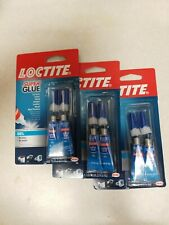 Loctite Super Glue Gel UPC 079340687233 3 PACK...