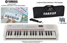 Yamaha Psse30 Tastiera portatile 37 Tasti per Bambini con Modalità Quiz Bianco