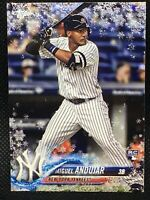 2018 TOPPS HOLIDAY METALLIC SNOWFLAKE MIGUEL ANDUJAR RC #HMW14!!! ROOKIE