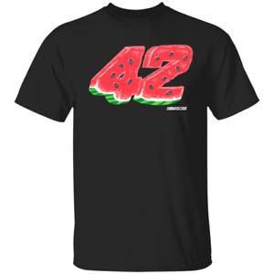 Men's Ross Chastain Checkered Flag Watermelon 2020 Black T-shirt