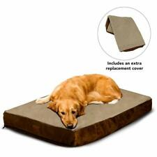 Floppy Dawg Large Dog Bed with Removable Cover, Waterproof Liner, and Extra Bed