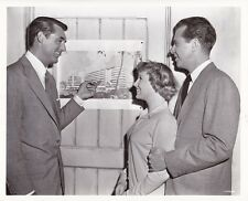 CARY GRANT JUNE ALLYSON DICK POWELL Original CANDID Vintage '50 MGM Studio Photo