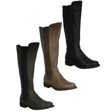 Stivali e stivaletti da donna elasticizzato con tacco basso (1,3-3,8 cm) sintetico