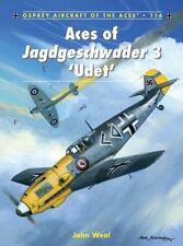 Aces of Jagdgeschwader 3 Udet Book~World War 2 Fighter Planes Me-109 FW-190~NEW!