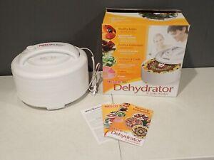 Nesco American Harvest FD-60 Food Dehydrator & Jerky Maker 4 Trays 500W