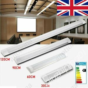 4FT 3FT 2FT 1FT LED Batten Tube Light Linear Slimline Panel Ceiling Lights QW