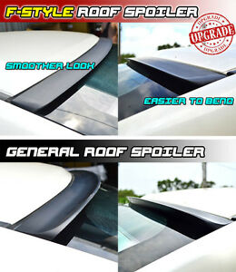F-Style Fit FOR INFINITI G35 G37 G25 Q40 Rear Window Roof Spoiler Wing 07-15