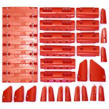 Lego Technic Bright Red Studless Panels Fairings Bricks - 34 Parts - NEW