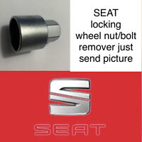 SEAT LOCKING WHEEL BOLT/NUT KEY/MASTER KEY REMOVER -ALL NUMBER JUST SEND PICTURE