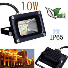 2X 10W 12V IP65 Cold White LED Floodlight Outdoor Garden Lamps Flood Wash Light