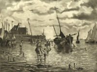 Early 20th Century Etching - Along the Coast