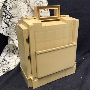 Vtg 1983 World Wide Media SEWING BOX Caddy Folding Storage Thread Spool Organize