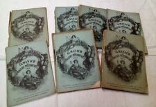 16 Almanachs du Magasin Pittoresque - 1851 /1871